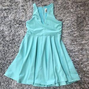 🌸 2 for $40 teal dress babydoll